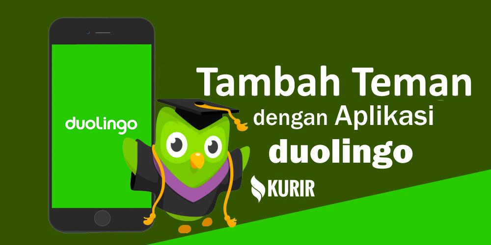 Tambah Teman dan grup di Aplikasi Duolingo