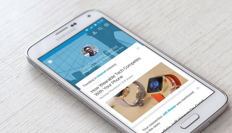 Aplikasi Lowongan Kerja LinkedIn Job Search