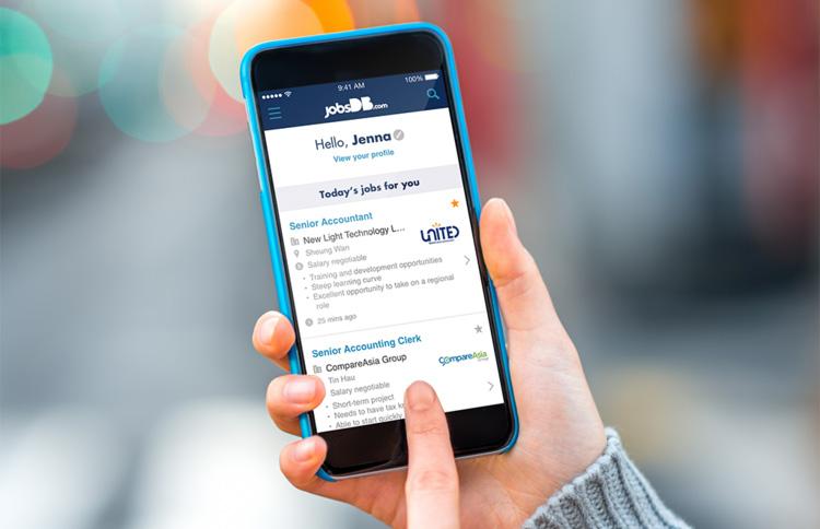Aplikasi Lowongan Kerja : JobsDB