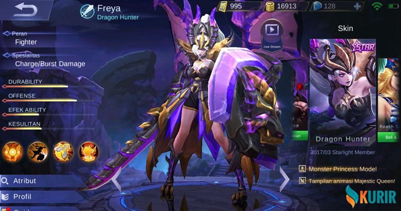 950 Gambar Hero Mobile Legend Freya Terbaik